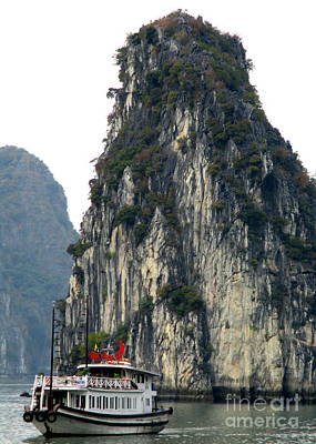 Photograph - Halong Bay 6 by Randall Weidner