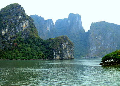 Photograph - Halong Bay 7 by Randall Weidner