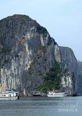 Photograph - Halong Bay 9 by Randall Weidner