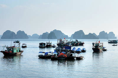 Ha Long Bay Photograph - Halong Bay - Vietnam by Joana Kruse