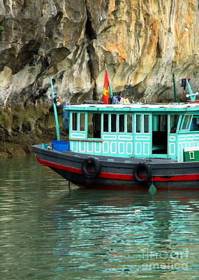 Photograph - Halong Boat 13 by Randall Weidner