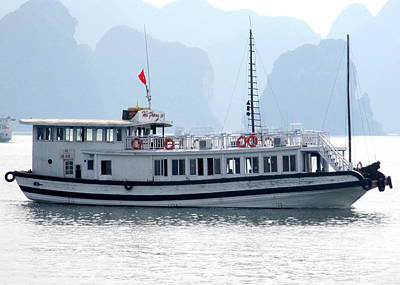 Photograph - Halong Boat 5 by Randall Weidner