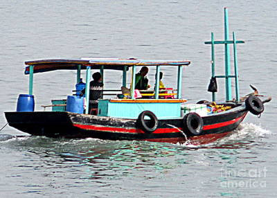Photograph - Halong Boat 7 by Randall Weidner