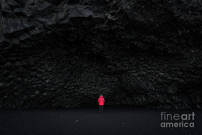 Photograph - Halsanefshellir Cave by Michael Ver Sprill