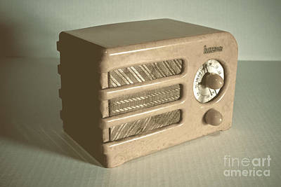 Radio Photograph - Halson Radio 3 by Pittsburgh Photo Company