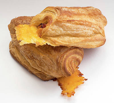 Photograph - Ham And Cheese Croissant by David Kay