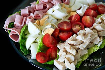 Ham Cobb Salad Original by Tracy Hall