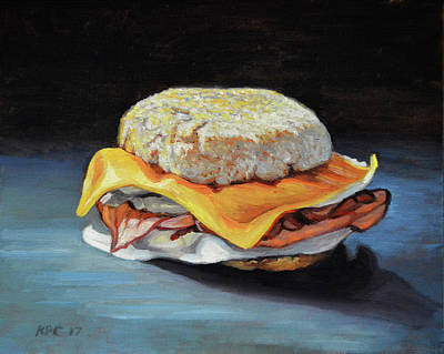 Ham, Egg And Cheese Original by Kenneth Cobb