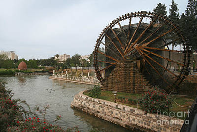 Photograph - Hama Water Wheels #4 by PJ Boylan