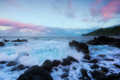Photograph - Hamakua Sunset by Ryan Manuel