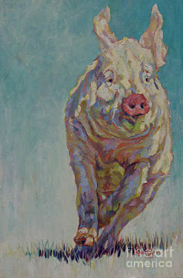 Painting - Hambino by Patricia A Griffin