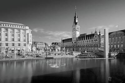 Photograph - Hamburg - Binnenalster by Marc Huebner