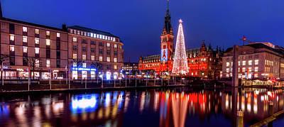 Photograph - Hamburg Christmas Market by Pixabay