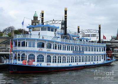 Photograph - Hamburg Harbor 18 by Randall Weidner