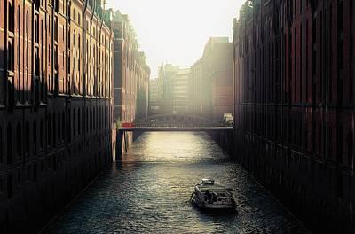 Painting - Hamburg Speicherstadt by Fine Art Photography