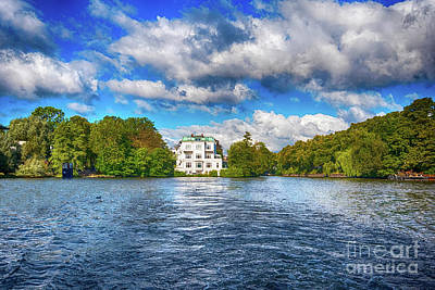 Photograph - Hamburg's Alster Lake by Pravine Chester