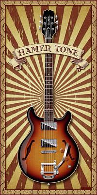 Photograph - Hamer Tone by WB Johnston
