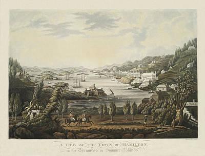 Photograph - Hamilton Bermuda 1816 by Andrew Fare