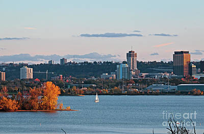 Photograph - Hamilton Canada Waterfront by Charline Xia
