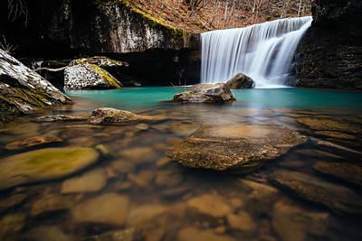 Richland Creek Photograph - Hamilton Falls by Kurt Jones