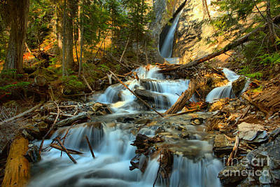 Photograph - Hamilton Falls Landscape by Adam Jewell
