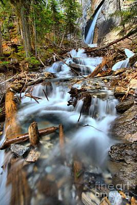 Photograph - Hamilton Falls Waterfall Portrait by Adam Jewell