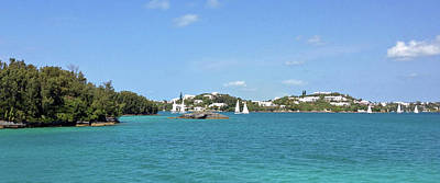 Sailboats Photograph - Hamilton Harbour, Bermuda by Sandy Taylor