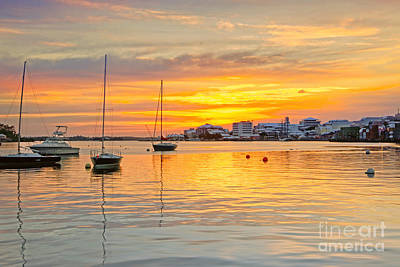 Photograph - Hamilton Harbour Sunset by Charline Xia