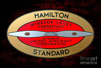 Hamilton Standard Windsor Locks Art Print by Olivier Le Queinec
