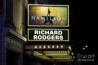 Photograph - Hamilton The Musical by Ed Rooney
