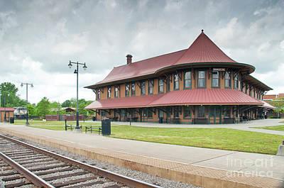 Photograph - Hamlet North Carolina Depot by John Black