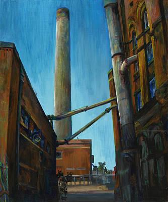 Hamm Brewery Art Print by Grace Hasbargen