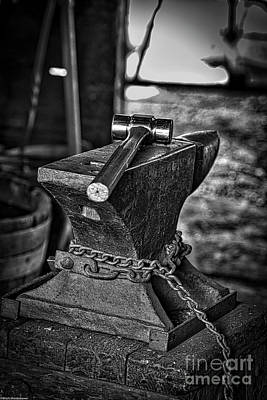 Photograph - Hammer And Anvil by Mitch Shindelbower