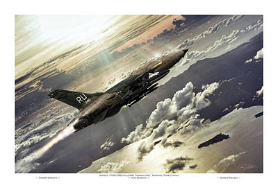 Hammer Time Pilot Edition Print by Peter Chilelli