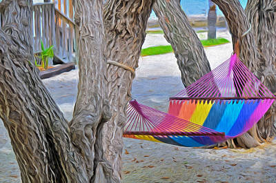 Photograph - Hammock Time In The Florida Keys by Ginger Wakem
