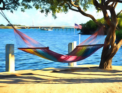 Photograph - Hammock Time In The Keys by Ginger Wakem