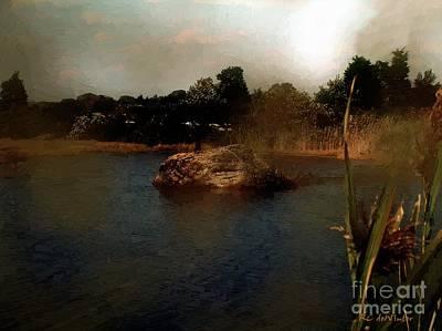 Connecticut Landscape Digital Art - Hammonasset Sunset by RC DeWinter