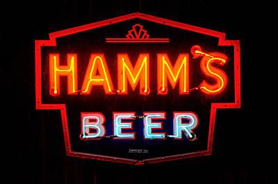 Hamm's Beer Art Print by Susan  McMenamin