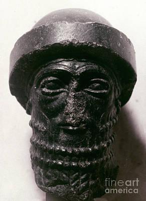 Photograph - Hammurabi (d. 1750 B.c.) by Granger