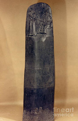 Photograph - Hammurabis Code by Granger