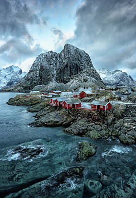 Photograph - Hamnoy Norway by Roberta Kayne