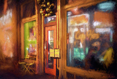 Photograph - Hampden Cafe by Glenn Gemmell
