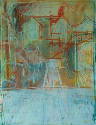 Painting - Hampden Hill #1 by Debbie Clarke