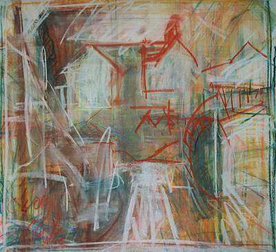 Painting - Hampden Hill#2 by Debbie Clarke