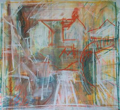 Painting - Hampden Hill#3 by Debbie Clarke