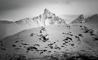 Photograph - Hamperokken Peak Near Tromso Norway by Adam Rainoff