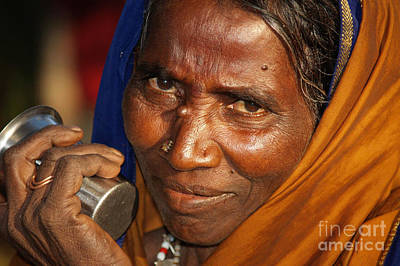 Photograph - Hampi Woman by Derek Selander