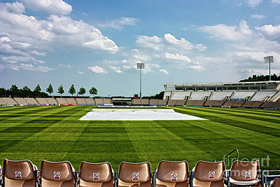 Photograph - Hampshire County Cricket Ground by Terri Waters