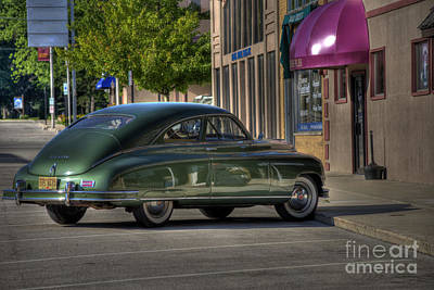 Photograph - Hampshire Packard by David Bearden
