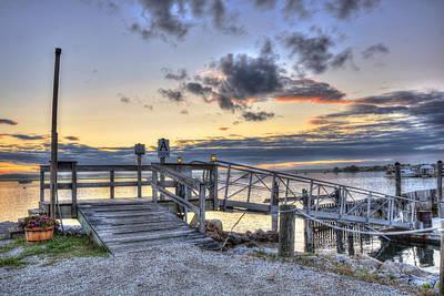 Photograph - Hampton Beach Marina - New Hampshire by Joann Vitali
